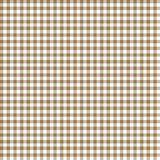 Smooth Gingham Seamless Pattern. Smooth tan and white classic gingham texture vector illustration