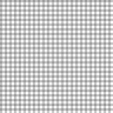 Smooth Gingham Seamless Pattern. Smooth gray and white classic gingham texture stock illustration