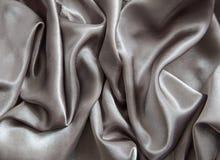 Smooth grey elegant dark grey silk texture royalty free stock photo
