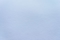 Smooth homogeneous texture of snow Stock Image