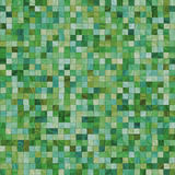Smooth irregular green tiles Stock Images