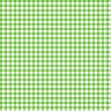 Smooth Gingham Seamless Pattern. Smooth lime green and white classic gingham texture royalty free illustration