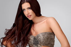 Smooth Long Hair. High quality image Stock Photo