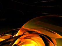 Smooth metal background Royalty Free Stock Images