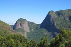 Smooth mountain in tropical forest Royalty Free Stock Images