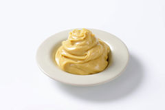 Smooth peanut butter Royalty Free Stock Image