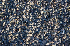 Smooth pebbles background Royalty Free Stock Photo