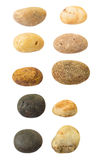 Smooth pebbles Royalty Free Stock Photography
