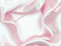 Smooth pink silk as background Royalty Free Stock Image