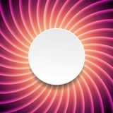 Smooth purple swirl background with circle Stock Photo