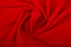 Smooth Red Silk Royalty Free Stock Photos
