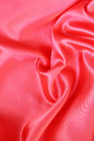 Smooth Red Silk as background Royalty Free Stock Photography