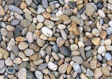 Smooth river stone background Royalty Free Stock Photos