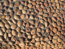 Smooth rock wall Royalty Free Stock Image