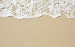 Smooth sand Royalty Free Stock Image