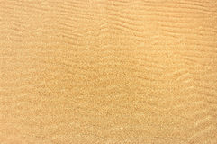 Smooth sand pattern Royalty Free Stock Photo