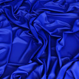 Smooth satin drapery Stock Image