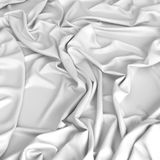 Smooth satin drapery Stock Photography