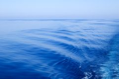 Smooth sea Stock Photo