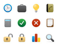 Smooth series > office icons Stock Photo