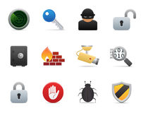 Smooth series > security icons Stock Photo