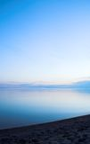 Smooth Shore. Smooth water at sunset Stock Photography