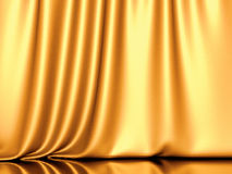 Smooth silk satin drapery background Stock Images