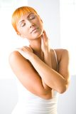 Smooth skin Stock Images