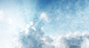 Smooth sky abstract background Royalty Free Stock Image