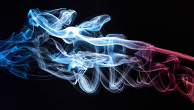 Smooth smoke cloud Royalty Free Stock Photos
