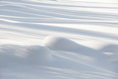 Smooth snow Royalty Free Stock Photography
