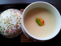 Smooth and soft. Japanese food from eggs Royalty Free Stock Photos