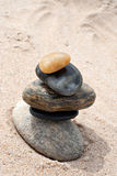 Smooth Stacked Rocks Stock Images