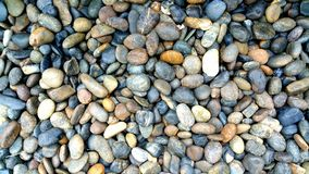 Smooth stone Stock Photography