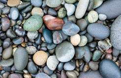 Smooth stones background Stock Photography