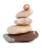 Smooth stones lie on each other Royalty Free Stock Image