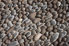 Smooth stones texture background Stock Photo