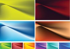 Smooth stylish background Stock Images