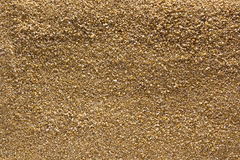 Smooth surface coarse sand Royalty Free Stock Image