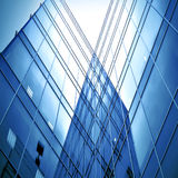 Smooth surface of panoramic modern buildings Royalty Free Stock Photos