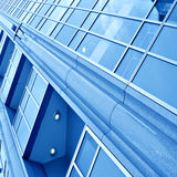Smooth surface of panoramic modern buildings Stock Image