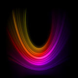 Smooth technology light lines background. EPS 8 Stock Images