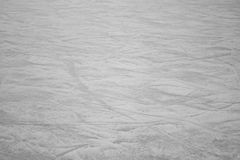 Smooth track Ice. Empty ice rink with skate marks, sport Stock Photography