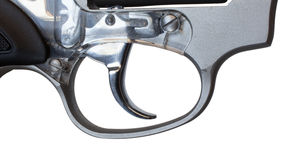 Smooth trigger Stock Image