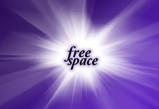 Smooth violet light abstract background Stock Photos