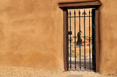 Smooth walls of Santa Fe Stock Photos