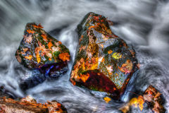 Smooth Water in hdr Royalty Free Stock Photography