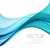 Smooth wave stream line abstract header layout Stock Photo