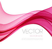 Smooth wave stream line abstract header layout Stock Images