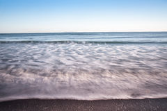 Smooth waves. Royalty Free Stock Images